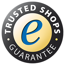 Sicherer Shop zertifiziert via Trusted Shops
